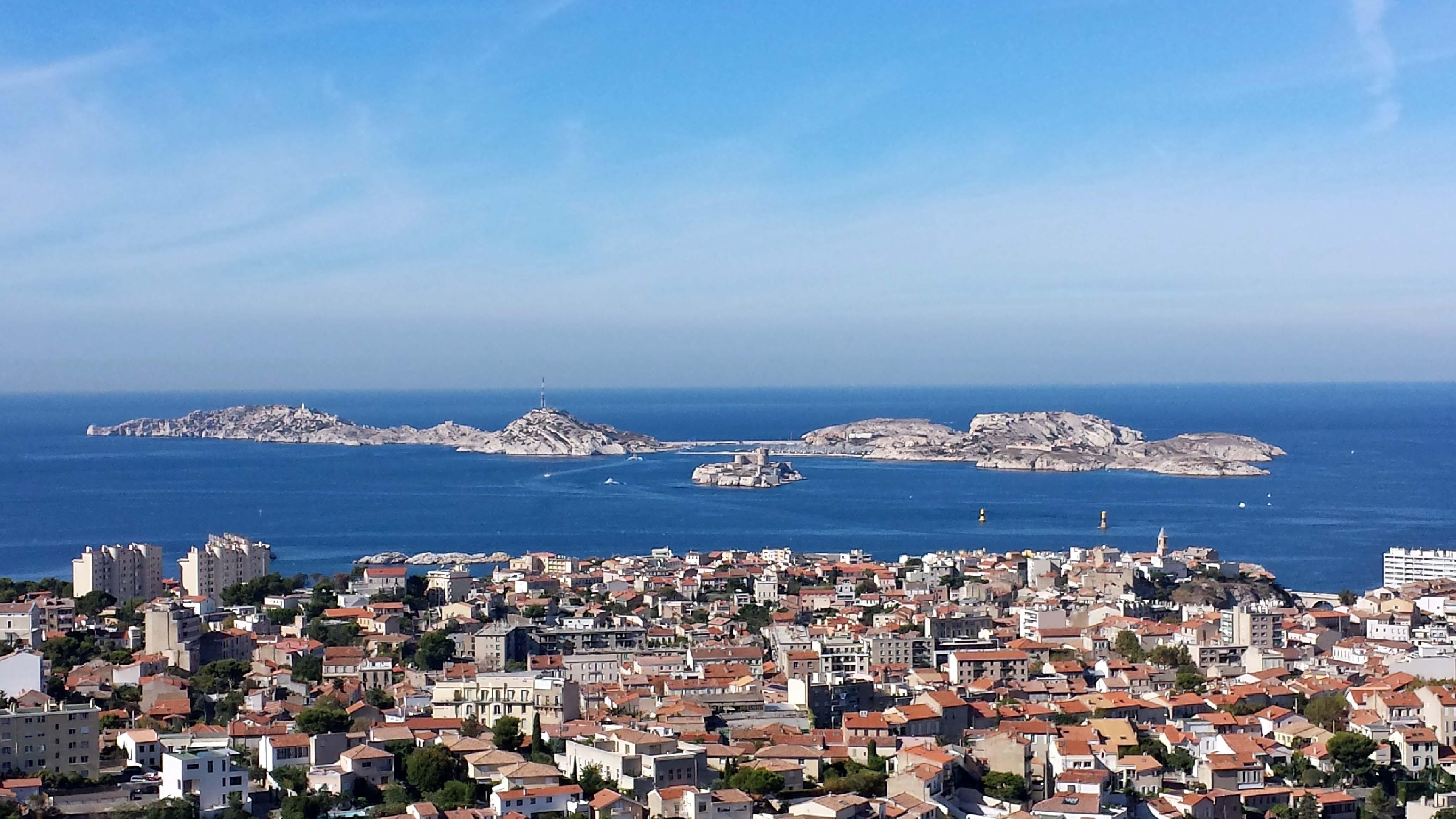 "Marseille, Blick auf ""Chateau d'If"""