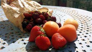 Genuss, Früchte Ende Mai